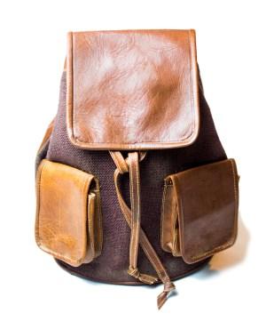 leather backpack Bag LP13LB-bp-0