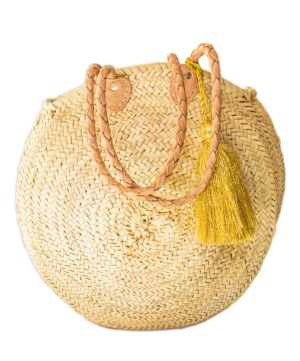 roundly straw basket FP-06CSB-0