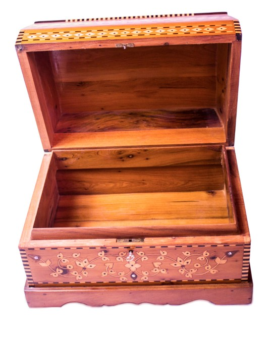Square wood box SWJB-04-2789