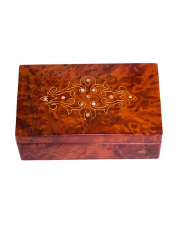 Square wood box SWJB-16-0