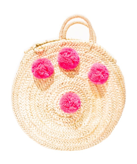 roundly straw basket FP-03CSB-0