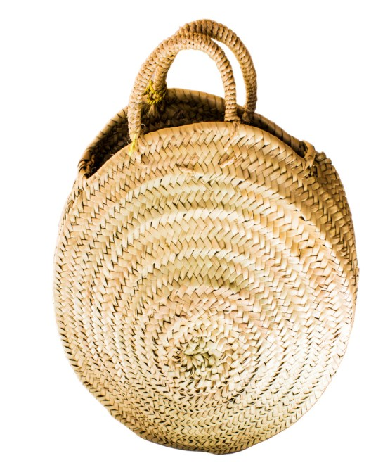 roundly straw basket FP-03CSB-3046