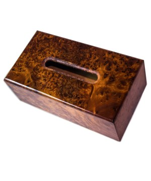 wood Tissue Box WJTB-06-0