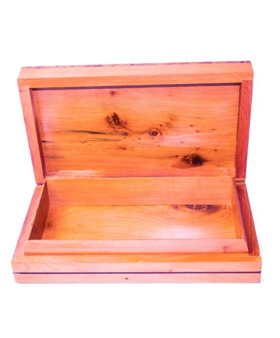 Square wood box SWJB-18-2833