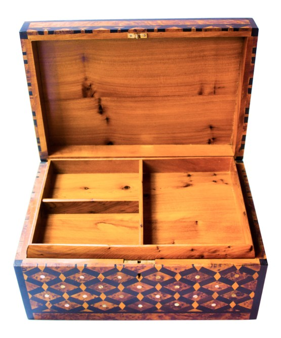 Square wood box SWJB-07-2801
