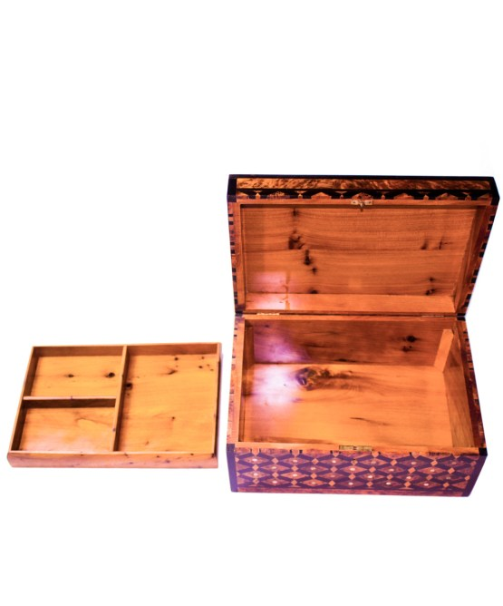 Square wood box SWJB-07-2804