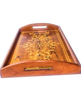 Tray of Thuya wood WP-04WT -0