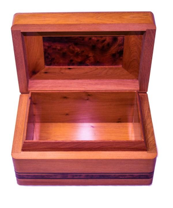 Square wood box SWJB-21-2841