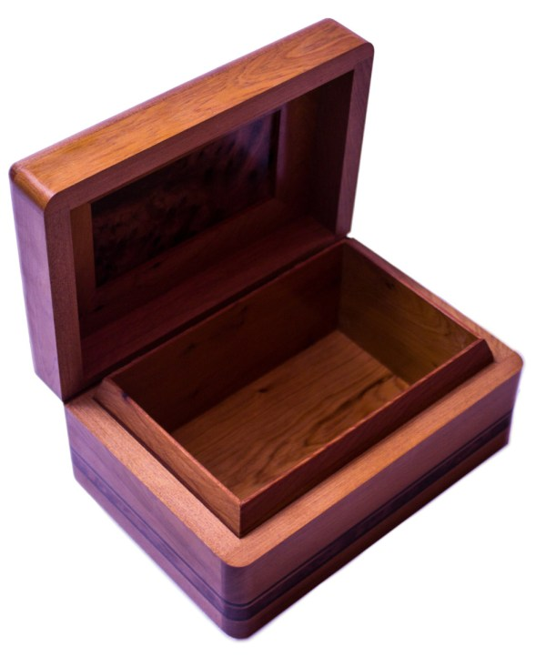 Square wood box SWJB-21-2842