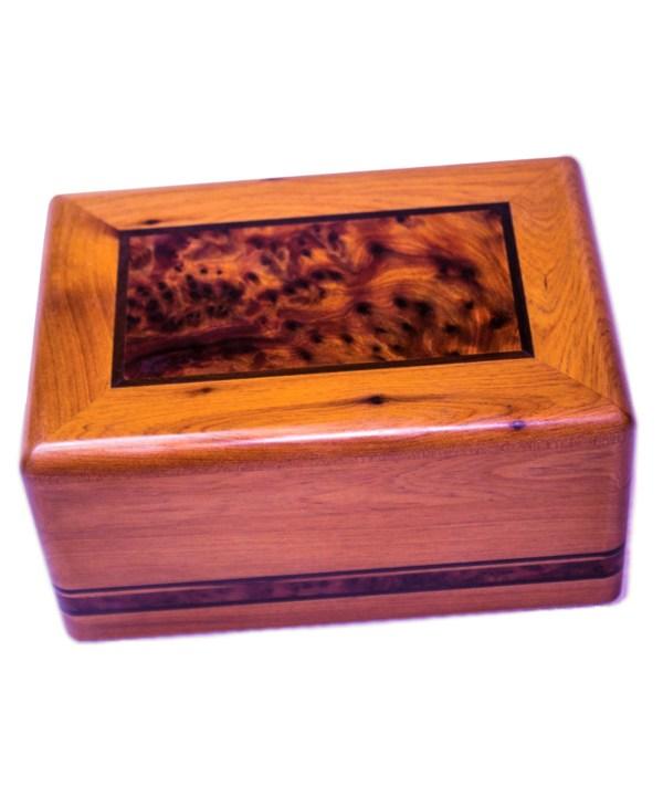 Square wood box SWJB-21-0