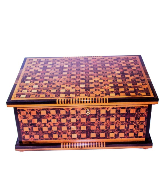 Square wood box SWJB-05-0