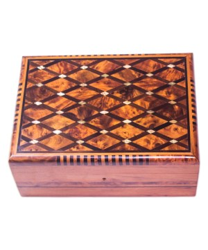 Square wood box SWJB-10-0
