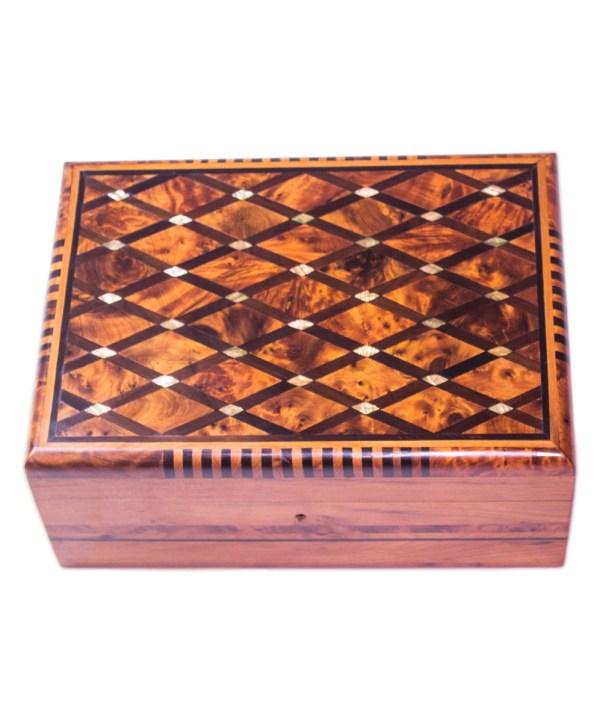 Square wood box SWJB-10-0