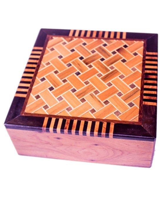 Square wood box SWJB-01-0