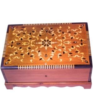 Square wood box SWJB-08-0