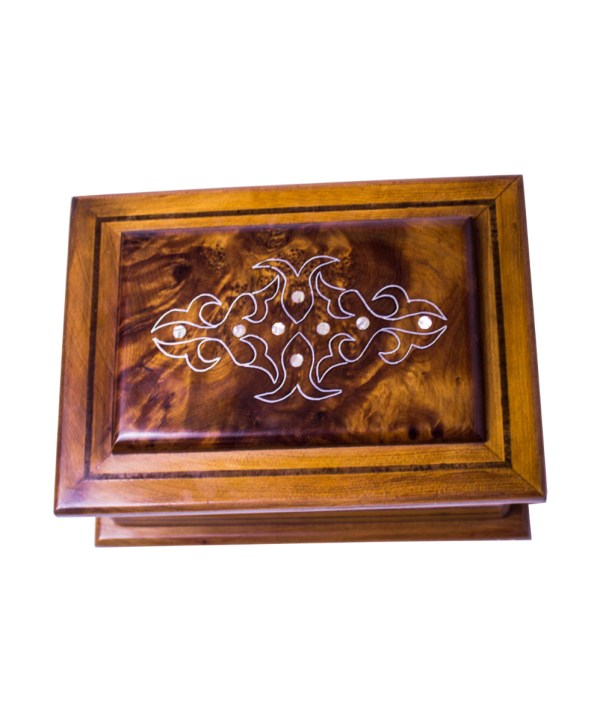 Square wood box SWJB-13-2819
