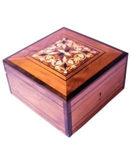 Square wood box SWJB-02-0