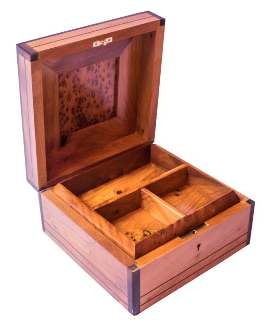 Square wood box SWJB-02-2780