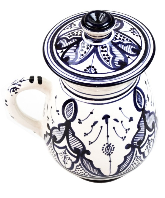 Collection Ceramic Jug in Blue and White -3022