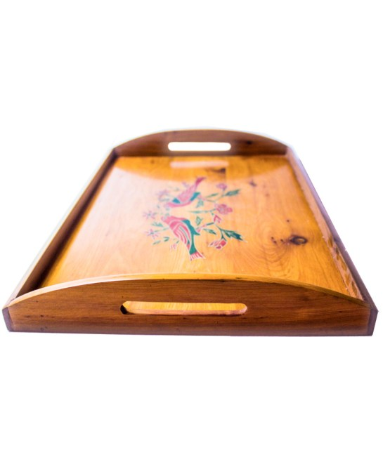 Tray of Thuya wood WP-02WT-2885