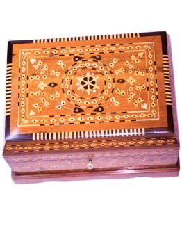 Square wood box SWJB-04-0