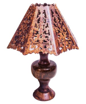 Thuya wood table lamp TW01TL-0