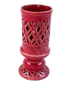 Ceramic candle holder CCH-02-0