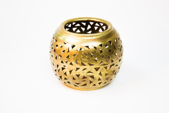 Pseudo-sphere Candle holder MP-13CPCS-3453