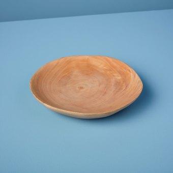 Mango Wood Plate Medium