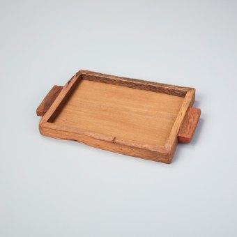 Reclaimed Wood Tray Rectangular Large