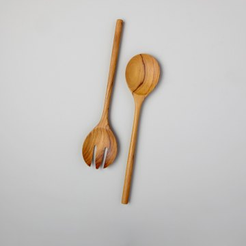 Teak Serving Set Large