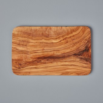 Olive Wood Square Coasters Set of 4