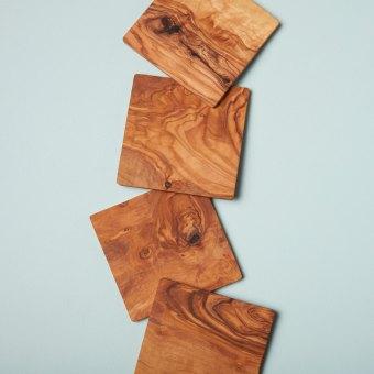 Olive Wood Rectangular Board