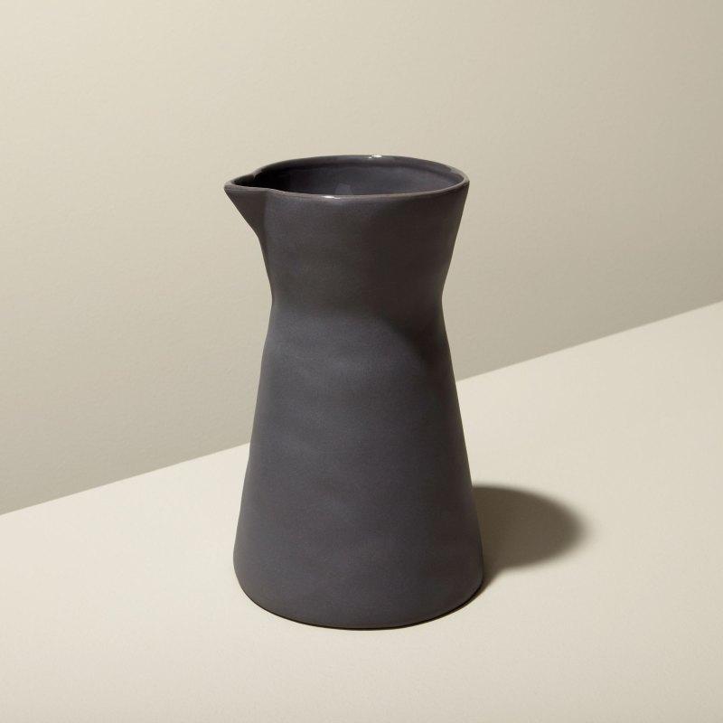 Stoneware Carafe Slate