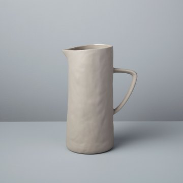 Stoneware Pitcher Sterling