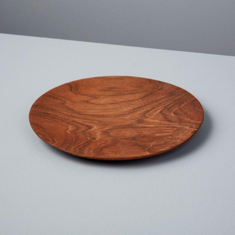 Teak Round Plate Small