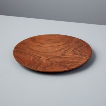 Teak Round Plate Small