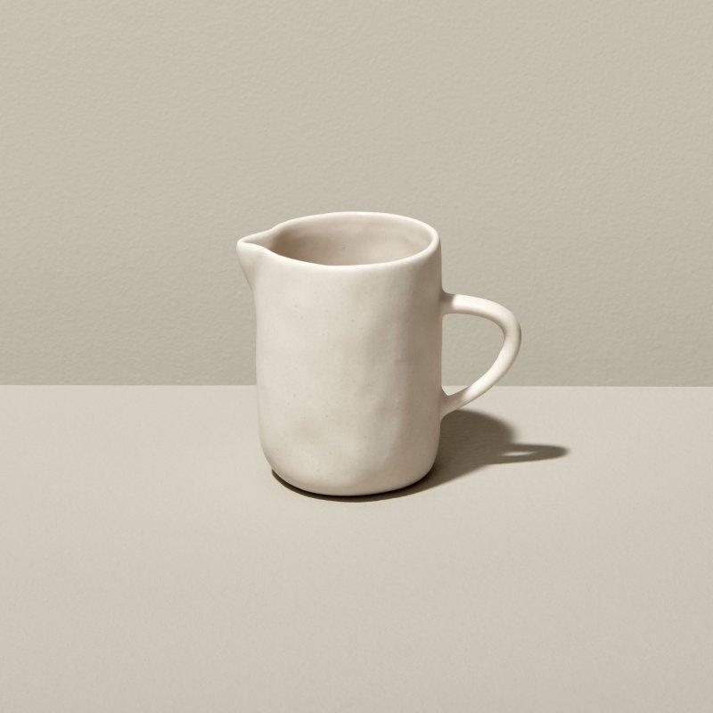 Stoneware Creamer White
