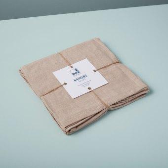 Linen Tea Towels Lilac Set of 2