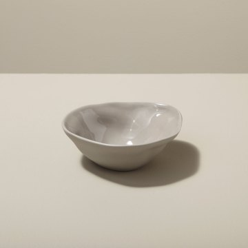 Stoneware Pinch Bowl, Sterling