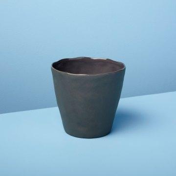 Stoneware Planter, Slate, Small