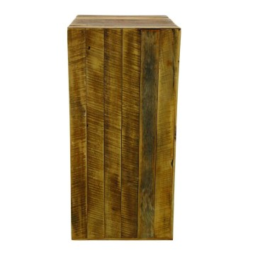 Reclaimed Wood Column, set of 3 (columns are packed nested)