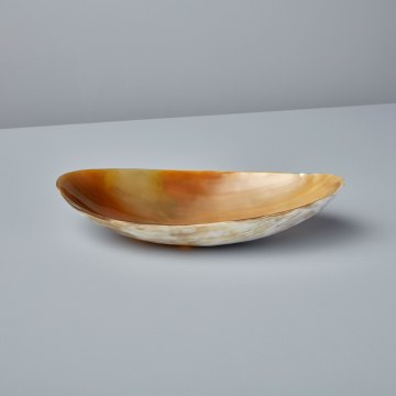 Light Horn Oval Bowl Extra Large
