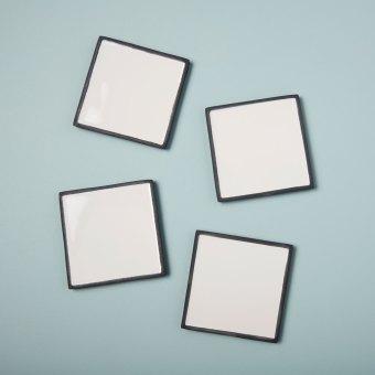 Linen Napkins White Set of 4
