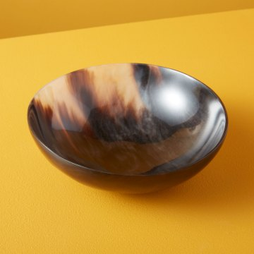 Horn Bowl Plain Large