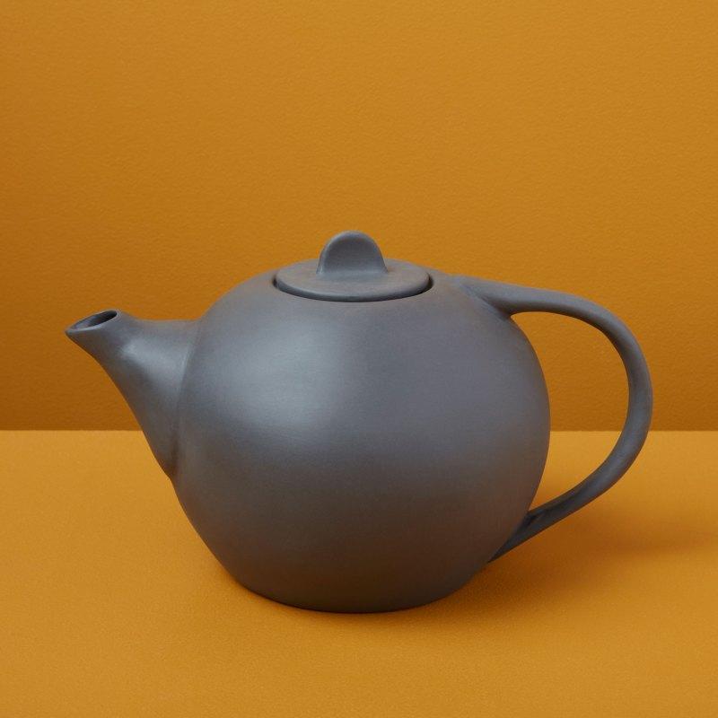 Stoneware Tea Pot, Slate