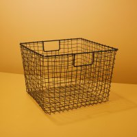 Be-Home_Black-Square-Wire-Basket-Large_87-871