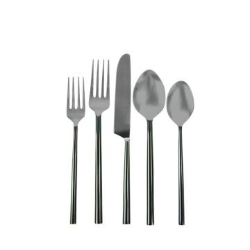 Gunmetal Flatware Set of 5