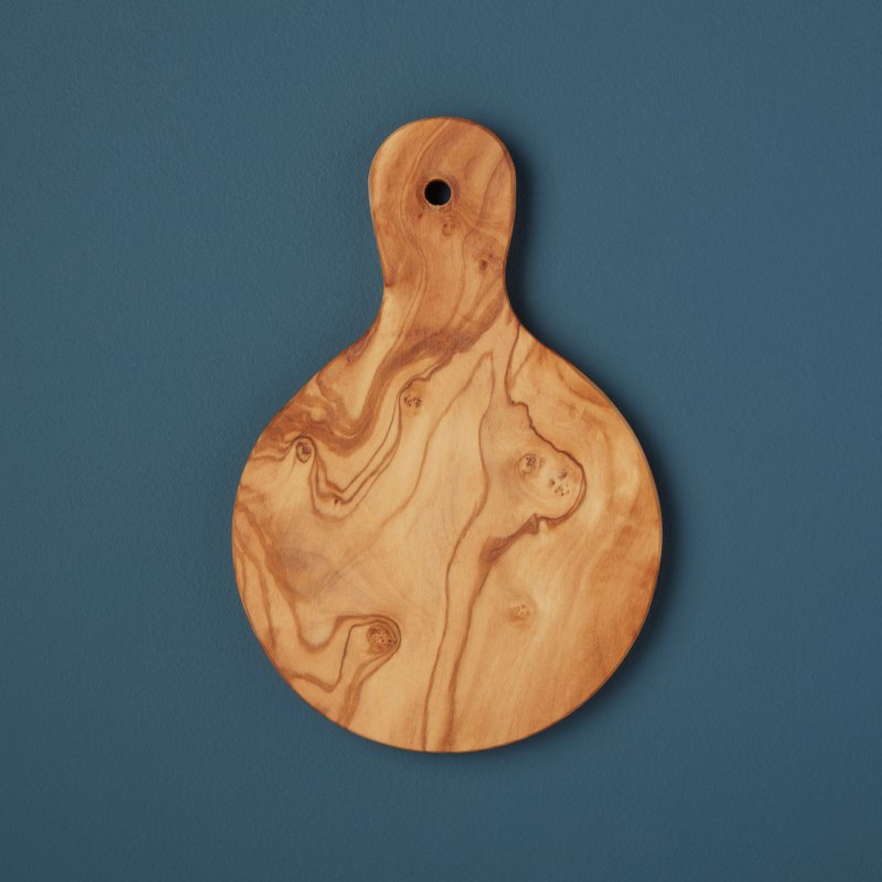 Olive Wood Mini Board, Round
