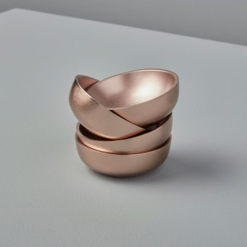 Rosé Mini Bowls, Set of 4